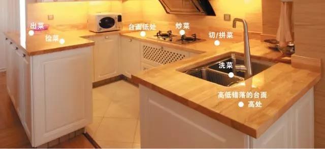 厨房高低错点